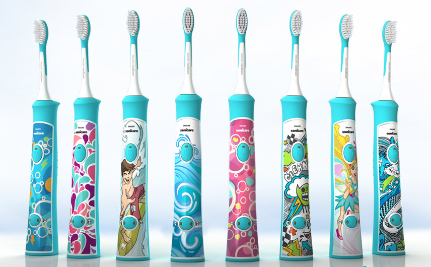 Kids Love The Phillips Sonicare Electric ...